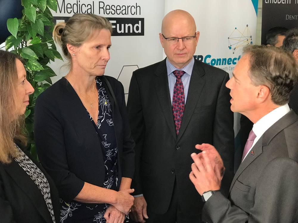 Karen Reynolds and Minister Hunt 18 Feb 2019