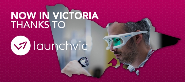 Web Banner re LaunchVic